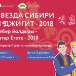 КАСТИНГ КОНКУРСА «ЗВЕЗДА СИБИРИ», «ДЖИГИТ» 2018